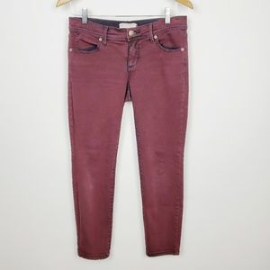 Free people, ankle Length, Straight leg jean.